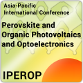 Asia-Pacific International Conference on Perovskite, Organic Photovoltaics and Optoelectronics