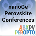nanoGe Perovskite Conferences